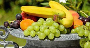 Obst nach dem Sport